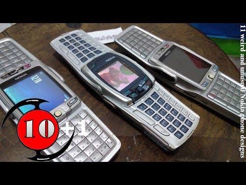11 มือถือดีไซน์สุดแปลกไม่เหมือนใครจาก Nokia / 11 weird and unusual Nokia phone designs