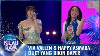 Duet Terdahsyat Via Vallen ft Happy Asmara [PERGI HILANG DAN LUPAKAN] | Road To Kilau Raya