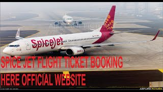 How to book a domestic flight ticket AIN SPICE JET  (India)