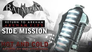 Batman - Return to Arkham City - Side Mission: Hot and Cold (PS4)