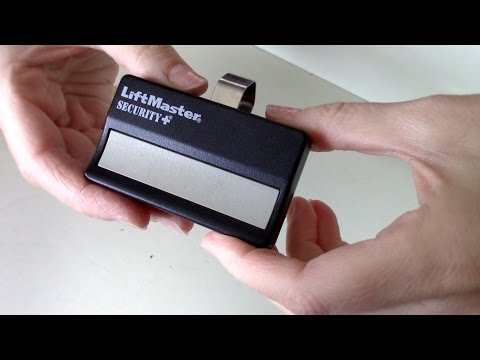How To Change The Battery On Garage Door Remote Liftmaster Security Chamberlain Opener