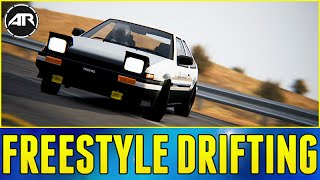 FREESTYLE DRIFTING!!! - Assetto Corsa JDM Car Pack