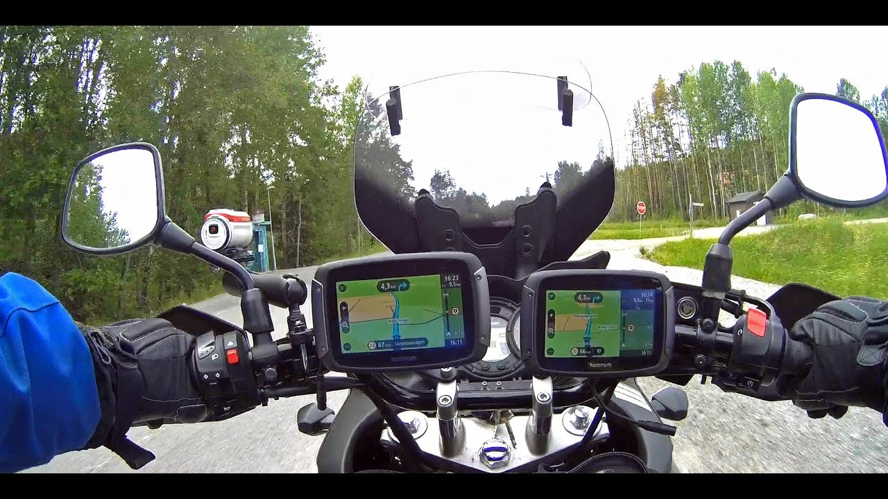 tomtom rider 550 test youtube