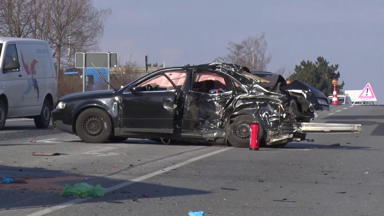Autofahrer stirbt nach Unfall auf der B156 [28.02.2018] - YouTube