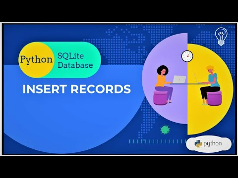 How to Insert Records in SQLite Database Python | Python Built-In Database - IV