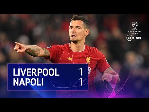 Liverpool vs Napoli (1-1) | UEFA Champions League Highlights