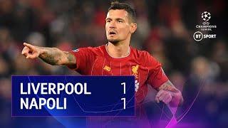 Liverpool vs Napoli (1-1) | UEFA Champions League Highlights