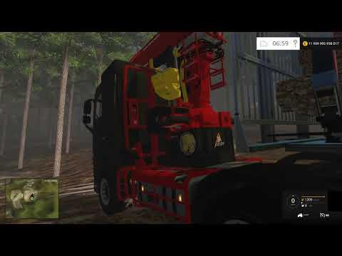 Farming Simulator 2015 - chargement de bois