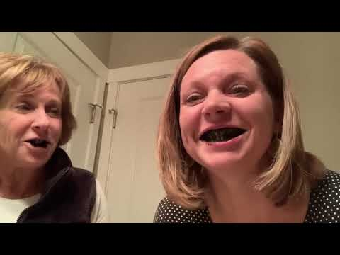 AJ - WATCH: Meredith and Her Mom Try Charcoal Teeth Whitening