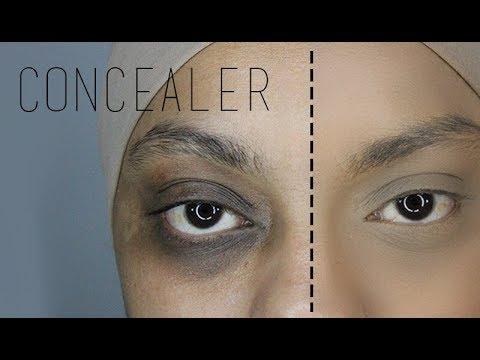 Concealing Extreme Dark Under Eye Circle