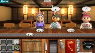 Youda Sushi Chef Day 1 One Gameplay