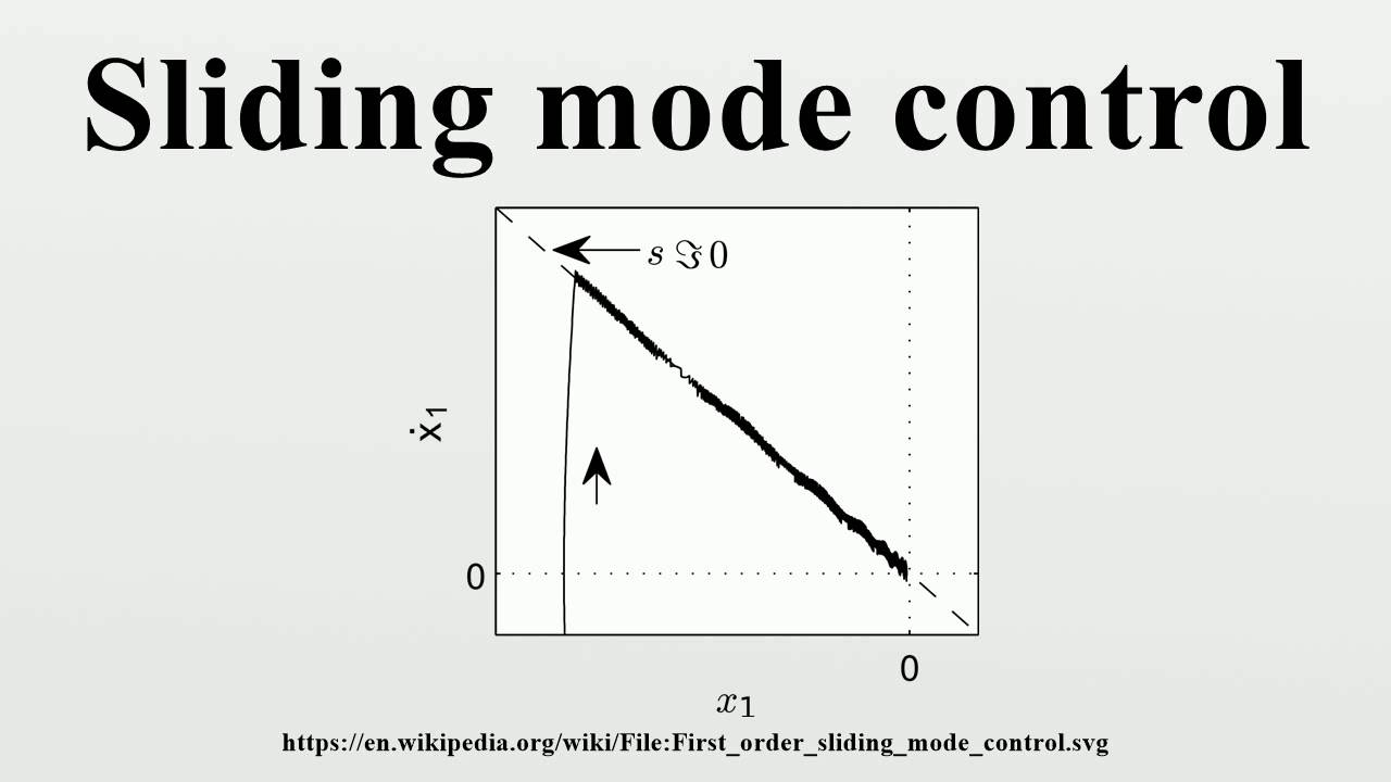 Pdf applications theory sliding mode control and