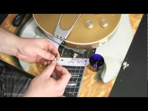 Step by Step on How to Install Schaller Strap Locks on a Les Paul or any Guitar by Scott Sill