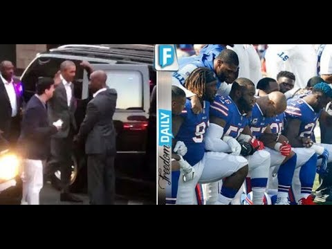 BARACK COMES OUT OF HIDING TO BE NFL'S FAV PRES! LOOK WHAT HE WAS CAUGHT DOING!