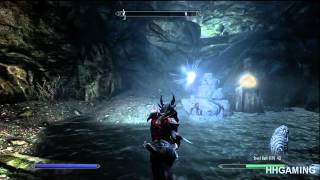 Skyrim Dawnguard - walkthrough part 2 HD gameplay dlc add on expansion for The Elder Scrolls V