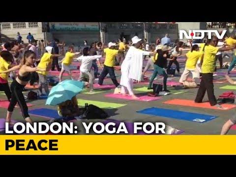 International Yoga Day 2017: London