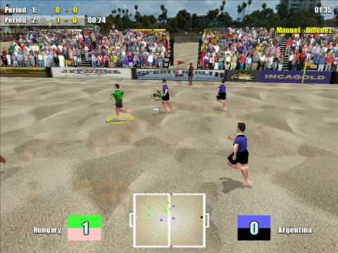 Beach Soccer gameplay