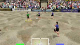 Beach Soccer gameplay