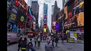 Amazing New York City - Timelapse  - in stunning 4K