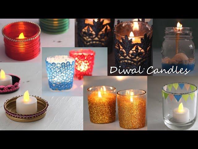 DIY Diwali Candles
