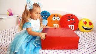 Diana e a caixa mágica para meninas