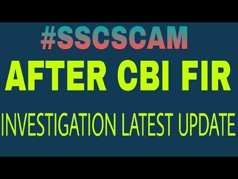 SSC CBI FIR LATEST UPDATE(25th May 18)