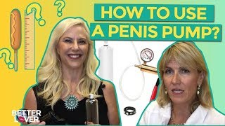 How To Use A Penis Pump For Penis Enlargement
