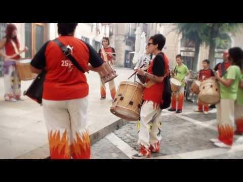 Matines de Correfoc - Dimonis de Montblanc - Festa Major 2013