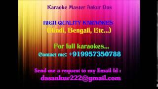 Amar Shopno Je Shotti Holo Aaj Karaoke By Ankur Das 09957350788