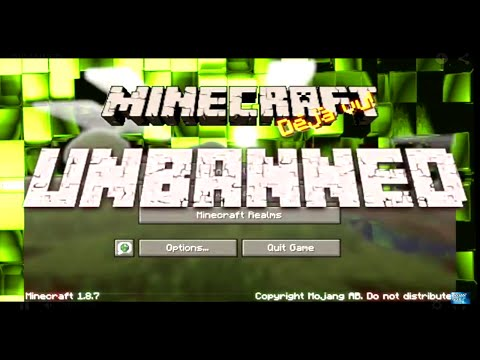 ★ HOW TO GET UNBANNED FROM A MINECRAFT SERVER ▶ 4 WAYS ◀ ⚡️ ❓❓