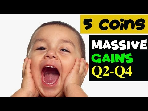Top 5 Low Cap Cryptocurrency with HUGE POTENTIAL Q2 2018 | Zeepin, Crypto Galaxy, Datawallet