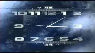 часы ПЕРВОГО КАНАЛА [2 версии мелодии]