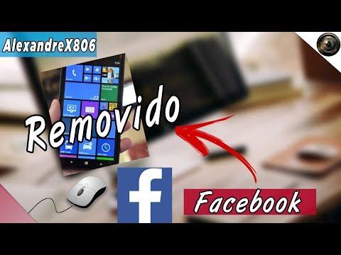 Aplicativo Do Facebook E Messenger é Removido Da Loja Do Windows Phone