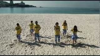 和歌山合宿2日目 青空の白浜の浜辺があまりにもきれいだったので撮影し...