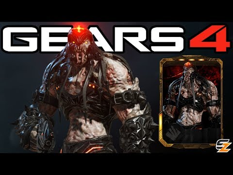"""Gears of War 4 - """"Black Steel Skorge"""" Character Multiplayer Gameplay! (Black Steel Locust Skorge)"""
