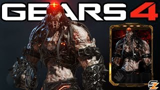 "Gears of War 4 - ""Black Steel Skorge"" Character Multiplayer Gameplay! (Black Steel Locust Skorge)"