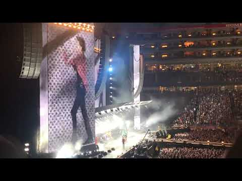 The Rolling Stones performing Start Me Up in Santa Clara