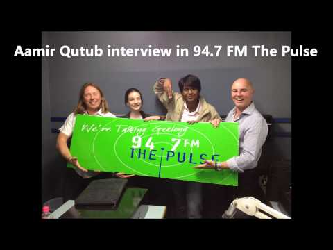 Aamir Qutub interview in Business Innovation radio Yellow Click Road on 94.7 FM the Pulse