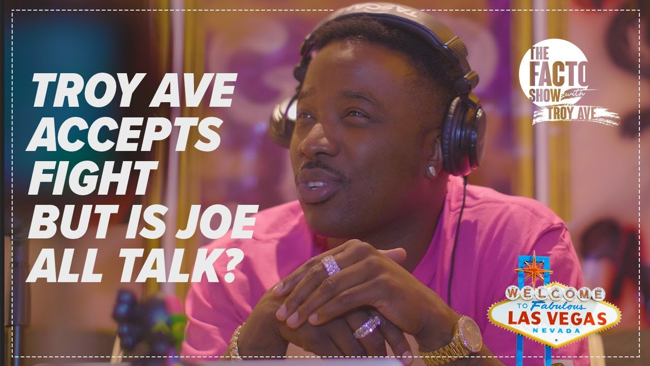 """THE FACTO SHOW (CLIPS) """"Troy Ave Accepts Fight with Joe, but is Joe Budden All Talk?"""" Episode 10"""