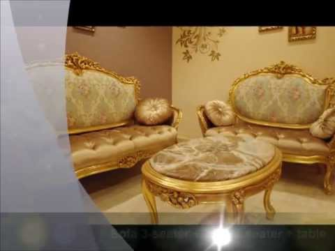 Luxury classic french carved sofa set - Louis xv Sofa set
