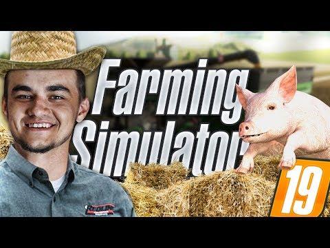 Od sąsiada do sąsiada! Dużo roboty! LIVE! Farming Simulator 19   MafiaSolecTeam