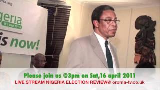 NIGERIA ELECTION  2011 REVIEW
