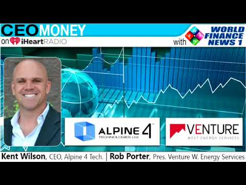 Kent Wilson and Rob Porter of Venture West Energy Services on CEO Money