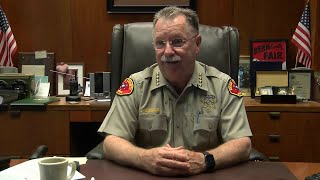 Sheriff Donny Youngblood discusses July 1, 2017 gun laws, arrest of deputy
