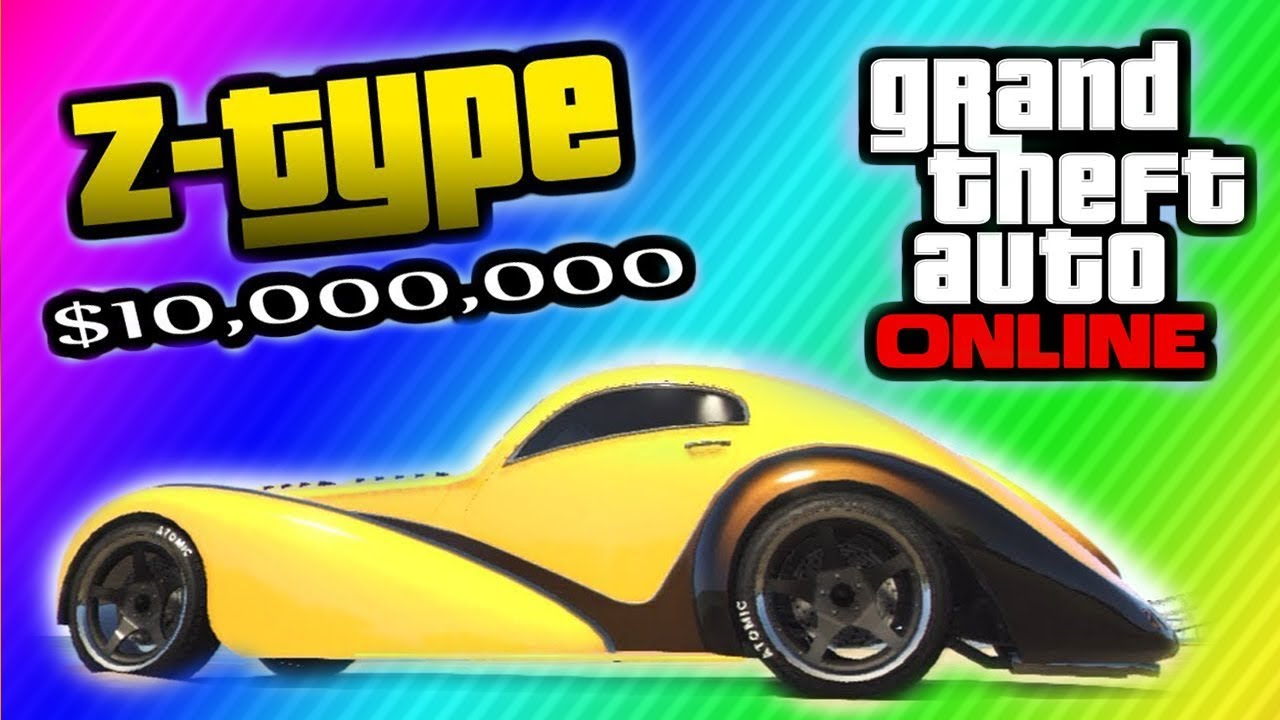 Gta 5 secret z type car location 10 000 000 car for Fenetre sale gta 5