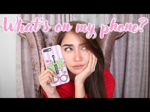 WHAT'S ON MY PHONE 2018