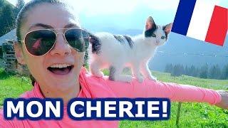 CUTE FRENCH KITTEN! - TRAVEL VLOG 376 FRANCE | ENTERPRISEME TV