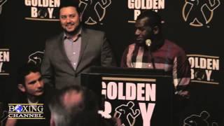 Mauricio Hererra vs. Hank Lundy Press Conference.
