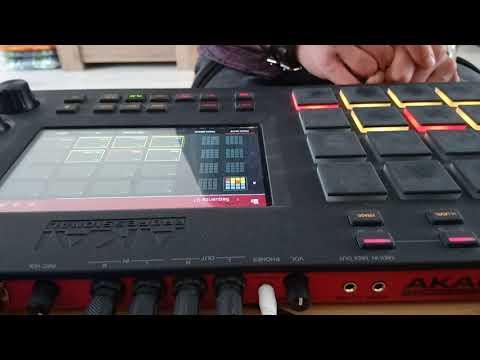 Maikie Beats - 01Beat07 Akai MPC Touch SP1200 vintage mode Boombap Hiphop
