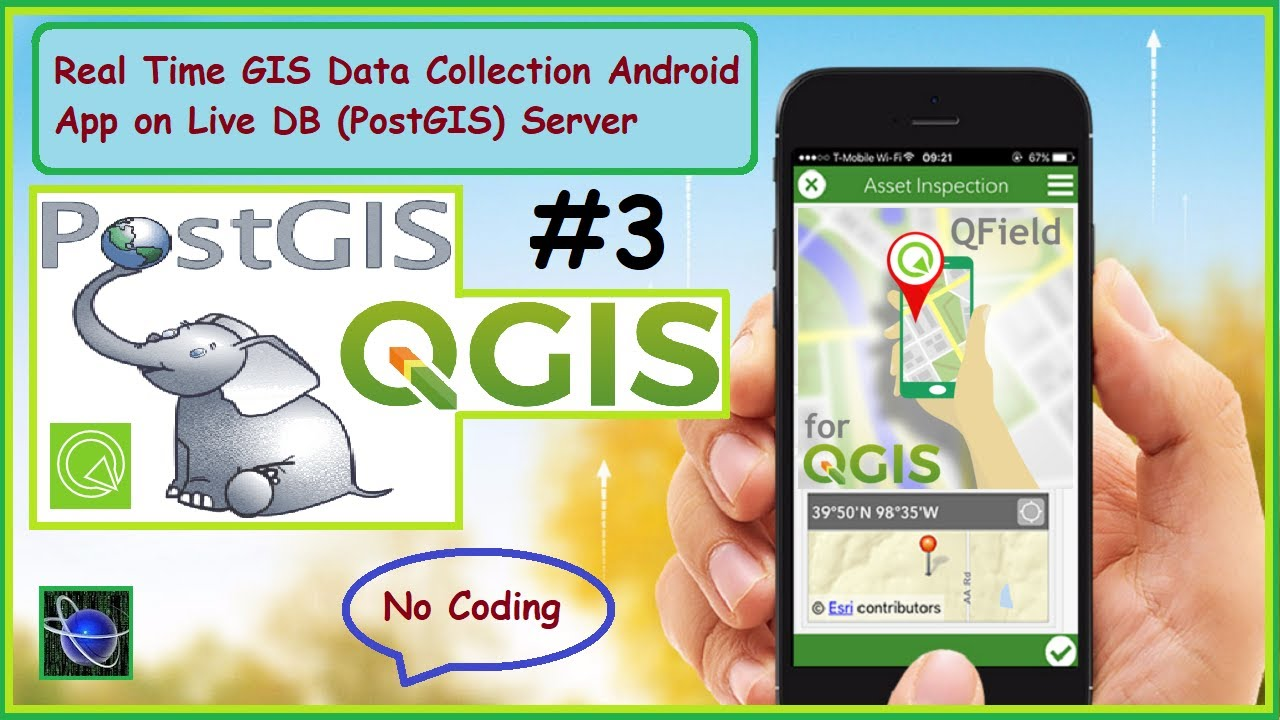Real Time Gis Data Collection On Live Db Server Qfield Hindi Urdu Part 4 Youtube